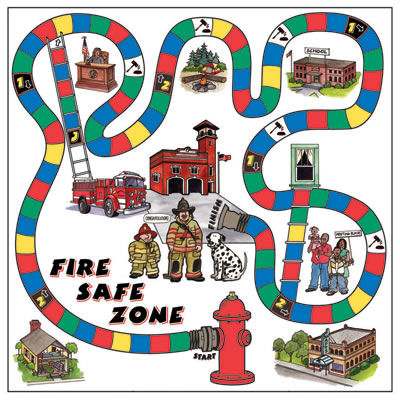 Fire Safe Game Board